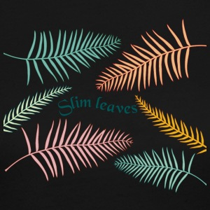 color slim leaves - Women's Long Sleeve Jersey T-Shirt