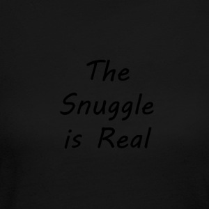 The-Snuggle-is-Real - Women's Long Sleeve Jersey T-Shirt