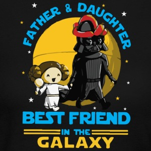Father and Daughter in the Galaxy - Women's Long Sleeve Jersey T-Shirt