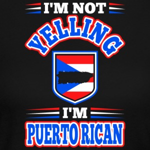 Im Not Yelling Im Puerto Rican - Women's Long Sleeve Jersey T-Shirt