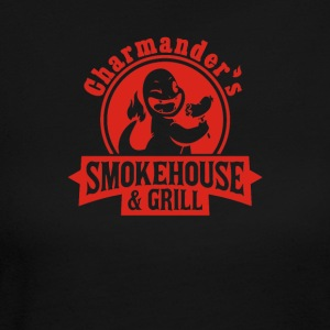 Smokehouse and Grill - Women's Long Sleeve Jersey T-Shirt