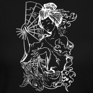 Japanese Geisha - Women's Long Sleeve Jersey T-Shirt