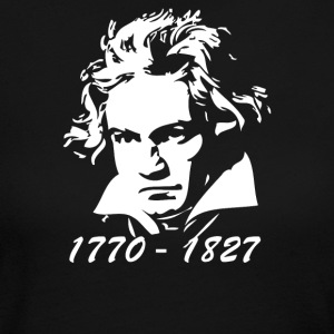 Beethoven Tribute - Women's Long Sleeve Jersey T-Shirt