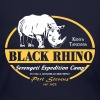 Black Rhino - Serengeti Safari - Women's Long Sleeve Jersey T-Shirt