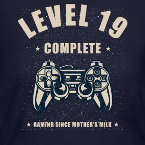 Level 19 Complete Video Gaming T Shirt - Women's Long Sleeve Jersey T-Shirt