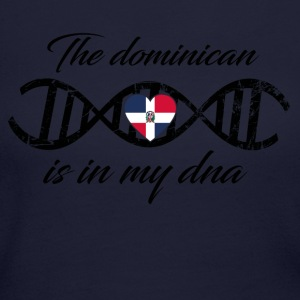 love my dns dna land country The dominican republi - Women's Long Sleeve Jersey T-Shirt