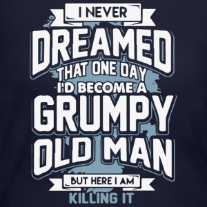 Grumpy Old Man - Women's Long Sleeve Jersey T-Shirt