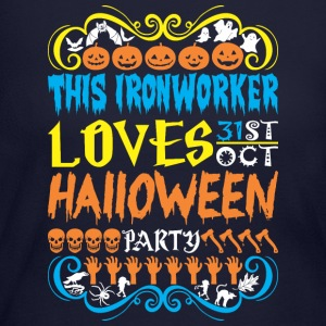 This Ironworker Loves 31st Oct Halloween Party - Women's Long Sleeve Jersey T-Shirt