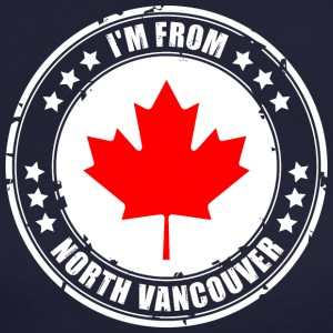 I'm from NORTH VANCOUVER - Women's Long Sleeve Jersey T-Shirt