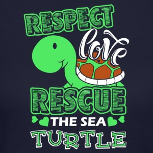 Sea Turtle Shirt - Women's Long Sleeve Jersey T-Shirt