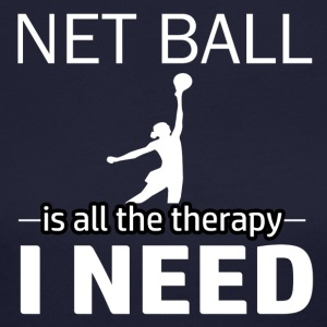 Netball is my therapy - Women's Long Sleeve Jersey T-Shirt