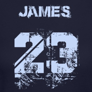 James 23 - Women's Long Sleeve Jersey T-Shirt
