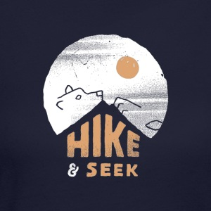 Hike And Seek - Women's Long Sleeve Jersey T-Shirt