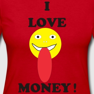 I LOVE MONEY - Women's Long Sleeve Jersey T-Shirt