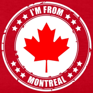 I'm from MONTREAL - Women's Long Sleeve Jersey T-Shirt