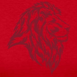 Lion Red - Women's Long Sleeve Jersey T-Shirt