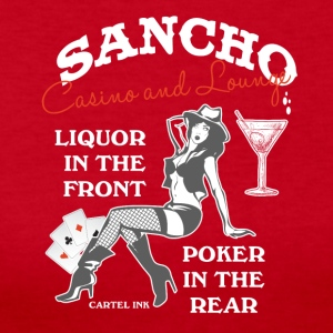Sancho casino and lounge Liquor in the front - Women's Long Sleeve Jersey T-Shirt