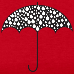Umbrella Illustration - Women's Long Sleeve Jersey T-Shirt