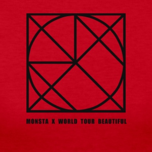 Monsta X Beautiful World Tour Guilty Version - Women's Long Sleeve Jersey T-Shirt