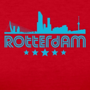 Retro Rotterdam Skyline - Women's Long Sleeve Jersey T-Shirt