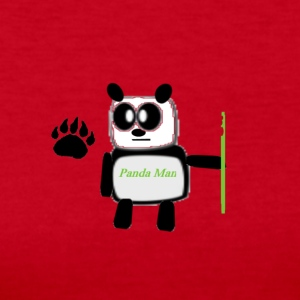 panda man - Women's Long Sleeve Jersey T-Shirt