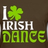 i heart irish dance - Women's T-Shirt