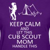 cub mom - Women's T-Shirt