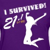 Women's Half Marathon · I Survived! - Women's T-Shirt