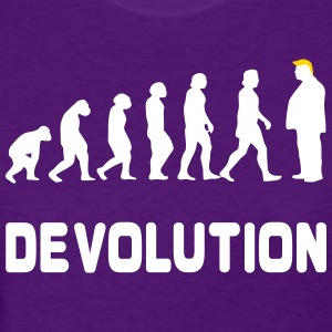 Funny Evolution Trump Devolution T-Shirt