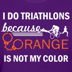 triathlon design - Women's T-Shirt