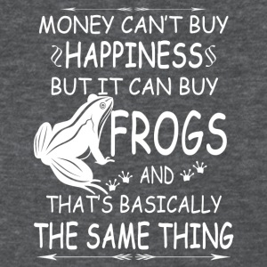 FROGS ARE MY HAPPINESS TEE SHIRT - Women's T-Shirt