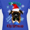 Wonderful-Christmas Boxer Dog - Women's T-Shirt