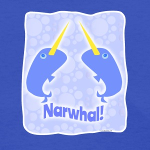 Double Narwhal Duel - Women's T-Shirt