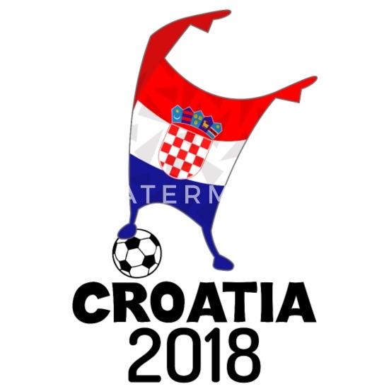 CROATIA WORLD CUP TEXT BALL RUSSIA 2018 BOYS GIRLS KIDS T SHIRT FOOTBALL SOCCER