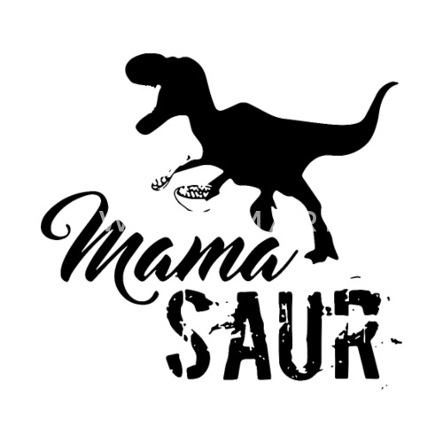 f6232c3b mama saur res dinosaur animals hunt Women's T-Shirt | Spreadshirt
