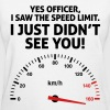 Speed Limit 1 (2c)++2012 - Women's T-Shirt