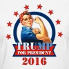 Rosie Riveter For Trump - Women's T-Shirt