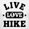 Live Love Hike - Women's T-Shirt