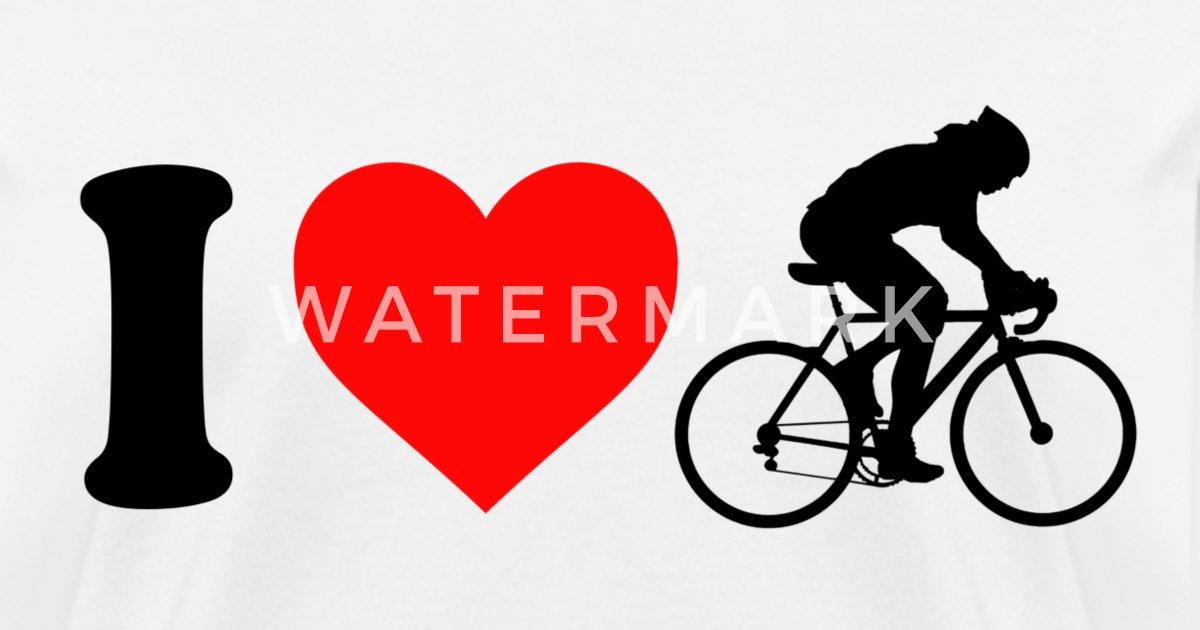 Womens I Love Cycling Womens T Shirt Spreadshirt
