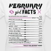 February Girl Facts Pisces - Women's T-Shirt