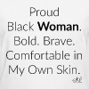 Empowered Black Woman Quotes T-shirt - Women's T-Shirt