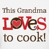 Grandma Cooking Gift Cute - Women's T-Shirt