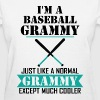 I'M A Baseball Grammy Just Like A Normal Grammy - Women's T-Shirt