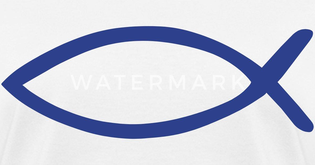 Ichthys Christian Fish Symbol By Retro Awesome Spreadshirt