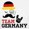 Team Germany German Deutschland Deutsch style flag - Women's T-Shirt