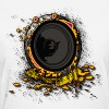 Speaker Graffiti DJ - Women's T-Shirt