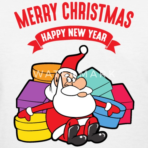 merry christmas xmas funny santa claus gifts cool by for more designs click here spreadshirt - Merry Christmas Funny