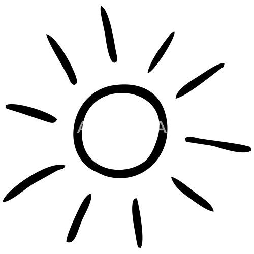 sun drawing by bimote