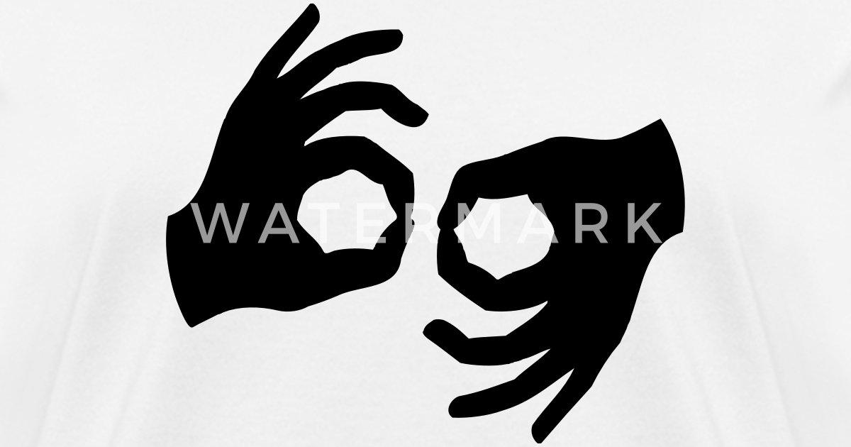 Braille Okay Hand Symbols By Azza1070 Spreadshirt