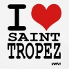 i love saint tropez by wam - Women's T-Shirt